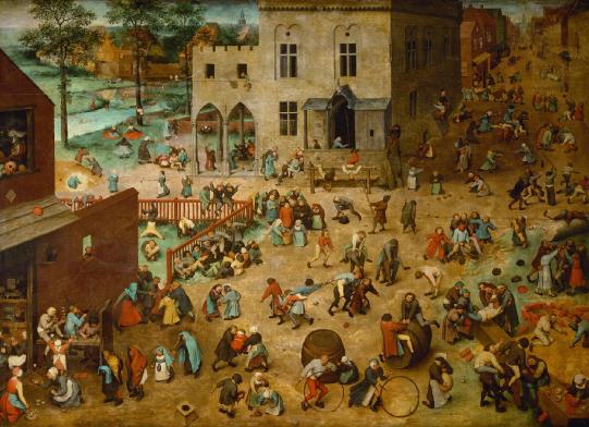 Brueguel, Pieter_Juego de niños