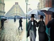 Caillebotte,Gustave-_La Place de l'Europe, temps de pluie